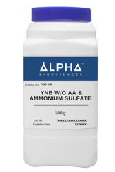 YNB  W/O AA & AMMONIUM SULFATE (Y25-106)
