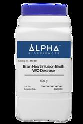 BRAIN HEART INFUSION BROTH W/O DEXTROSE (B02-114)