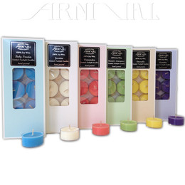 93 Scents to choose from - Natural (Cream White) or Colored