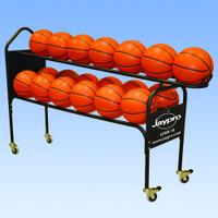Jaypro Deluxe Training Ball Rack