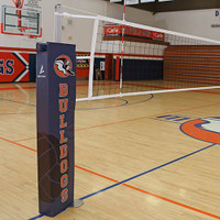 Titan Aluminum Volleyball System with Judges Stand