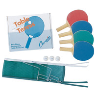Champion Sports Four Player Table Tennis Set