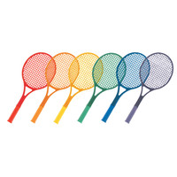 Champion Sports Plastic Tennis Racket Set
