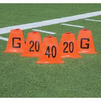 Flag Football Stackable Sideline Markers Set