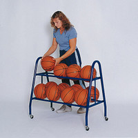 Jaypro 12 Ball Basketball Rack