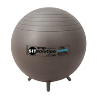 Champion Sports Maxafe Exercise/Stability Ball with Legs