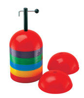 Champion Sports Dome Cones Set With Holder