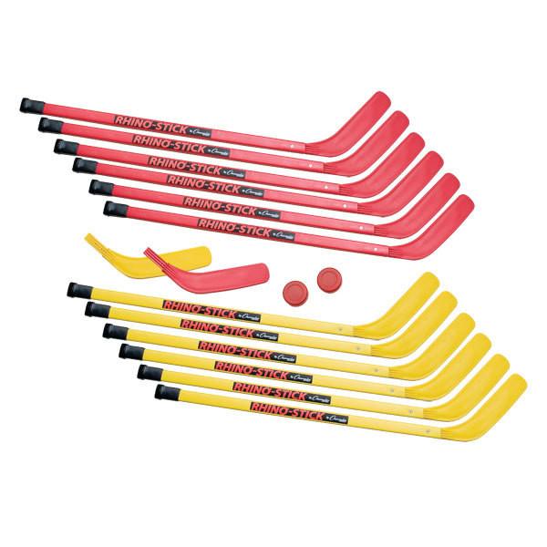 Rhino 36 39 39 elementary floor hockey stick set athletic stuff for Floor hockey stick