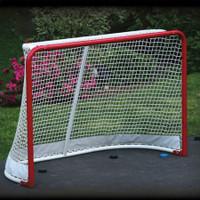 EZ Goal Folding Steel Hockey Goal