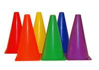 Champion Sports Colored Practice Cone Set