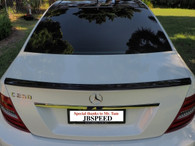 Mercedes Benz AMG Carbon Fiber Trunk Spoiler For C204 Coupe (Free Express Shipping)