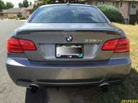 BMW Painted M-Tech Painted Trunk Spoiler For E92/E92 LCI