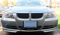 BMW OEM Style Painted Splitters For E90 Pre Facelift Model (PP material)