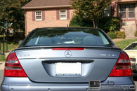Mercedes Benz E63 Style AMG Painted Trunk Spoiler (ABS Material) For W211/E55 (Free Express Shipping)