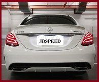 Mercedes Benz Vorsteiner Painted Trunk Spoiler for W205/C43/C63