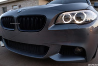 BMW Dual Slat Matte Black Grills for F10/M5 (No M5 Decals)