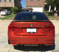 BMW CF Carbon Fiber High Kick Performance Trunk Spoiler  For F80 M3