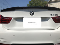 BMW Carbon Fiber M4 Performance Trunk Spoiler For F32