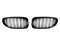 BMW Dual Slat Gloss Black Grills for F06/F12/F13/M6