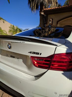 BMW CF Carbon Fiber Performance Trunk Spoiler For F32