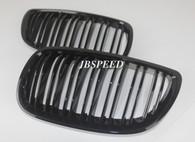BMW Dual Slat Gloss Black Grills for E9x M3 (Free Express Shipping)