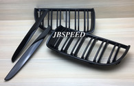 BMW Dual Slat Gloss Black Grills for E90 Pre Facelift (Free Express Shipping)