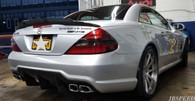 Mercedes Benz Vorsteiner Carbon Fiber Trunk Spoiler for R230/SL55/SL63/SL65 (Free Express Shipping)