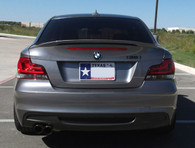 BMW Painted Performance Trunk Spoiler (ABS material) for E82/1M (Free Express Shipping)