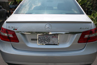 Mercedes Benz AMG Painted Trunk Spoiler (ABS Material) For W212 (Free Express Shipping)