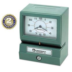ACP01207040A | Acroprint Time Recorder Co