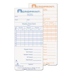 ACP097000000 | Acroprint Time Recorder Co