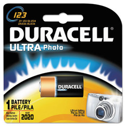 DURDL123ABPK | DURACELL PRODUCTS COMPANY