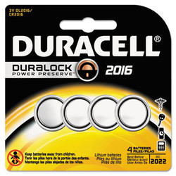 DURDL2016B4PK | DURACELL PRODUCTS COMPANY