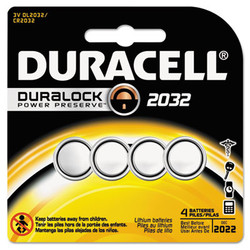 DURDL2032B4PK | DURACELL PRODUCTS COMPANY