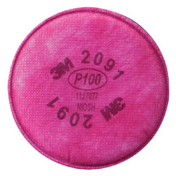142-2091 | 3M Personal Safety Division 2000 Series Filters