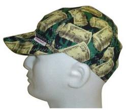 118-1000-8-1/8 | Comeaux Caps Deep Round Crown Caps