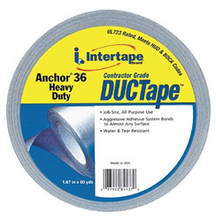 761-4137 | Intertape Polymer Group Anchor 36 Heavy-Duty Contractor Grade Duct Tapes