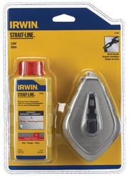 586-64498   Irwin Strait-Line Aluminum Reel & Chalk Combos