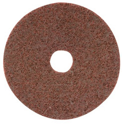 421-70035 | CGW Abrasives Surface Conditioning Discs, Hook & Loop with Arbor Hole