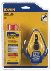586-64495   Irwin Strait-Line Speed-Line Reel & Chalk Combos