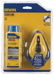 586-64494   Irwin Strait-Line Speed-Line Reel & Chalk Combos