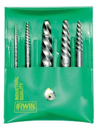 585-53535 | Irwin Hanson Spiral Flute Screw Extractors - 535/524 Series Sets