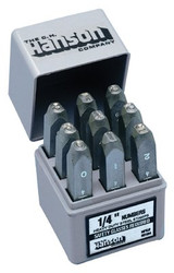 337-20541   C.H. Hanson Standard Steel Hand Stamp Sets