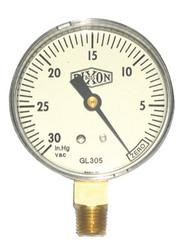 238-GL105 | Dixon Valve Vacuum Gauges
