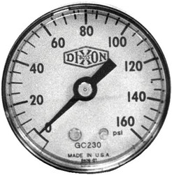 238-GC220 | Dixon Valve Standard Dry Gauges