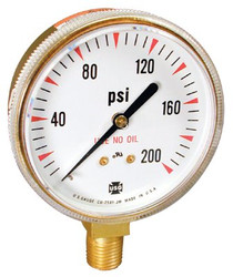 225-165507A | Ametek U.S. Gauge Welding & Compressed Gas Gauges