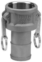 238-100-C-AL | Dixon Valve Andrews Type C Cam and Groove Couplers