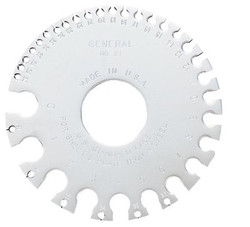 318-21 | General Tools Sheet Metal Gages