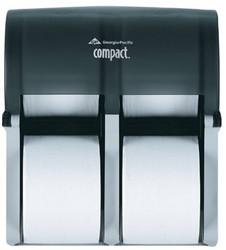 603-56744 | Georgia-Pacific Compact Coreless Bathroom Tissue Dispensers