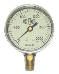 238-GLS445 | Dixon Valve Liquid Filled Gauges